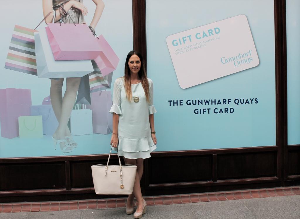 Gunwharf Quays Shopping at the Sales